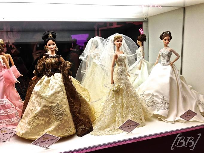 Barbies by Oscar de la Renta e Carolina Herrera.