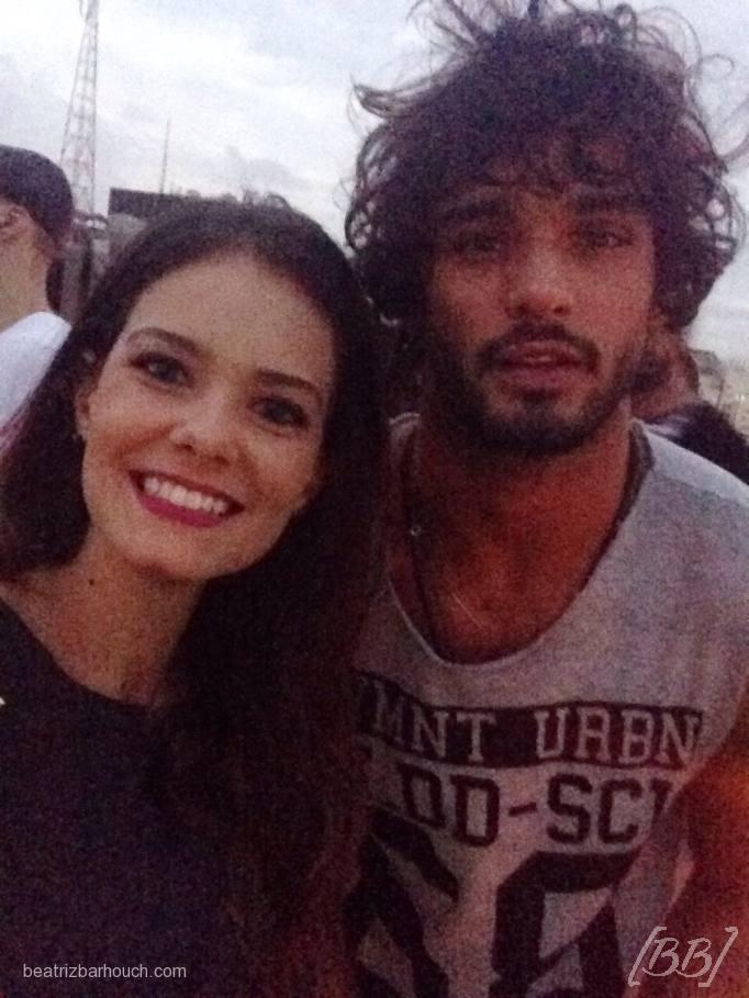 Com Marlon Teixeira