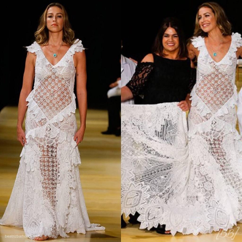 Luana Piovani e a estilista Martha Medeiros